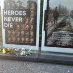 У Дніпрі вшанували пам'ять загиблих під Шахтарськом десантників