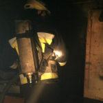Вогнеборці ліквідували пожежу в лікарні ветеринарної медицини